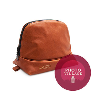 Black Label Bag Kando Camera Case -- Brown
