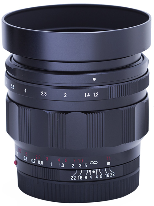 Voigtlander 40mm f1.2 Nokton Aspherical for Sony E