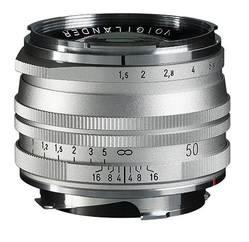 NEW! Voigtlander 50mm f1.5 ASPH vintage line Version II for VM Mount (silver, multi coat