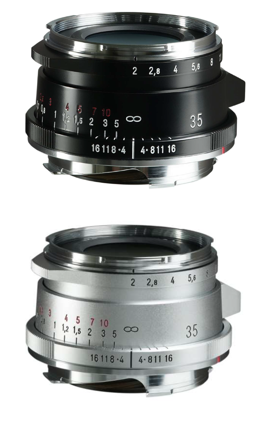 Pre-Order: 35mm f2.0 Ultron Vintage line - version II ASPHERIC M black or silver