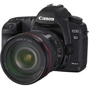 Canon EOS 5D Mark II Digital SLR Camera w/ Canon EF 24-105mm f/4L IS USM Lens