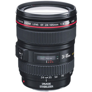 Canon 24-105mm f/4L IS USM AF Lens