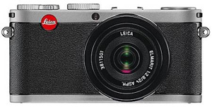 Leica X1 Digital Camera -- Steel Gray