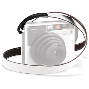 Leica Strap for Sofort Instant Film Camera (White/Black)